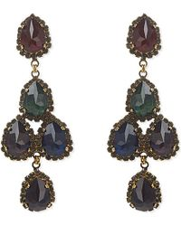 Erickson Beamon - Multicolor Hyperdrive Drop Earrings - Lyst