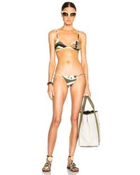 Emilio Pucci - Green Bikini - Lyst