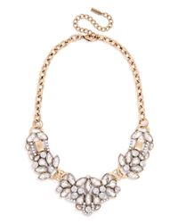 BaubleBar | Pink Crystal Trellis Necklace | Lyst