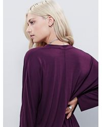 Free People | Purple Gallery Dress | Lyst