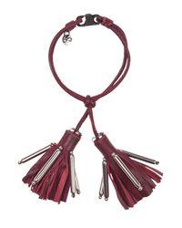 Dorothee Schumacher - Red Tassel Addiction Tassle Bracelet - Lyst