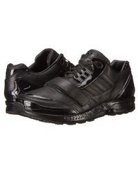 Adidas | Black Perf Leather Zx8000 Low Jj | Lyst