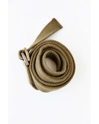 Silence + Noise - Green Long Karate Belt - Lyst