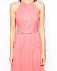 Coast - Pink Lena Short Dress - Lyst