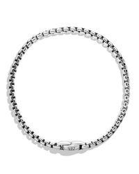 David Yurman | Metallic Medium Box Chain Bracelet for Men | Lyst