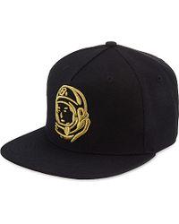 d8b326abca3 BBCICECREAM Helmet Logo Snapback Cap in Black for Men - Lyst
