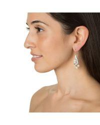 Ben-Amun | White Short Pearl Deco Chandeliers | Lyst