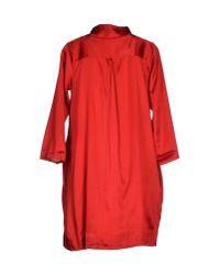 Siyu - Red Full-length Jacket - Lyst