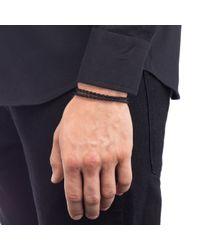 Lulu Frost | Black George Frost Leverage Wrap Bracelet for Men | Lyst