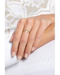 Melissa Joy Manning - Metallic 14-Karat Gold Diamond Ring - Lyst