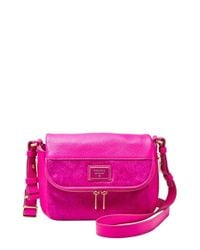 Fossil | Pink 'small Preston' Crossbody Bag | Lyst