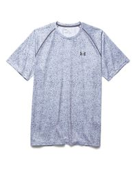 Under Armour | White Tech Novelty Shirt for Men | Lyst