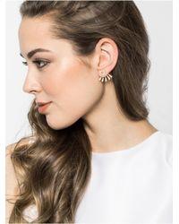 BaubleBar | Metallic Pavã© Halo Ear Jackets | Lyst