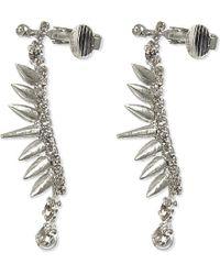 Erickson Beamon | Metallic Little Twin Stars Cuff Earrings | Lyst