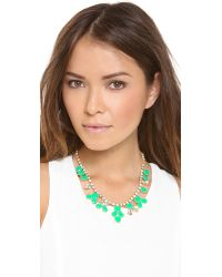 Kate Spade | Green Secret Garden Pendant Necklace | Lyst