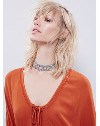 Free People - Orange Endless Summer Womens Es Ease Into It Tunic - Lyst