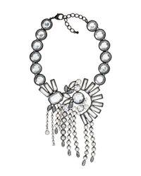 H&M | Metallic Sparkly Necklace | Lyst