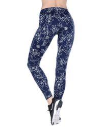 Nike | Blue Pro Hypercool Reflect Capri Leggings | Lyst