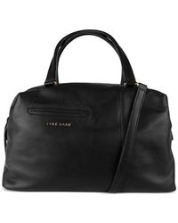 Cole Haan | Black Omega Large Satchel | Lyst