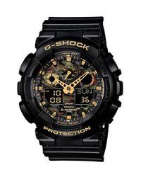 G-Shock | Black G-shock Xl Camouflage Pattern Ana-digi Watch for Men | Lyst