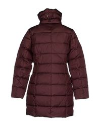 Vero Moda - Purple Down Jacket - Lyst
