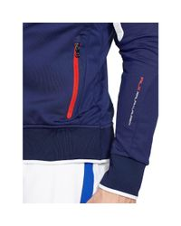 "Ralph Lauren - Blue ""rlx"" Full-zip Track Jacket for Men - Lyst"