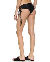 Mikoh Swimwear - Black Vanuato Bikini Bottoms - Night - Lyst
