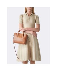 Pink Pony - Brown Mini Classic Calfskin Tote - Lyst