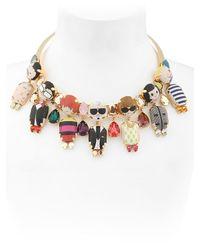 Bijoux De Famille | Metallic Dress Me Choker Necklace | Lyst