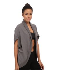 Trina Turk | Gray Quilted Kimono Jacket | Lyst
