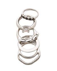 Iosselliani | Metallic Iosselliani - Silver | Lyst