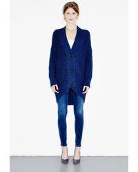 M.i.h Jeans - Blue Rampling Cardigan - Lyst