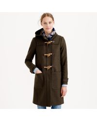 J.Crew | Brown Wool Melton Toggle Coat | Lyst