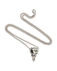 H&M | Metallic Long Necklace for Men | Lyst