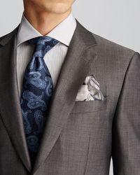 Canali | Gray Micro Birdseye Travel Suit - Regular Fit for Men | Lyst