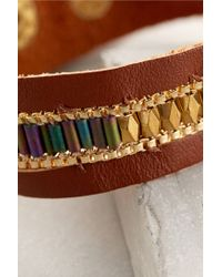 Anthropologie - Brown Caye Bracelet - Lyst