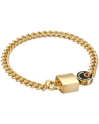 Marc By Marc Jacobs | Metallic Enamel Lock-In Bracelet | Lyst