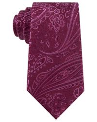 Michael Kors | Purple Michael Eastern Paisley Tie for Men | Lyst