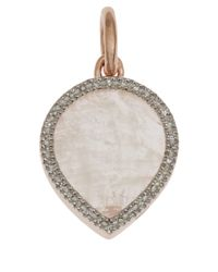 Monica Vinader | Pink Rose Gold-Plated Diva Lotus Pendant | Lyst