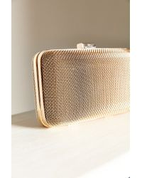 Urban Outfitters - Metallic Mesh Hard Case Crossbody Bag - Lyst