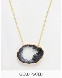 Only Child - Metallic Nly Child Dark Clouds Necklace - Lyst