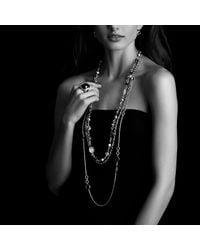 David Yurman - Metallic Oval Link Necklace - Lyst
