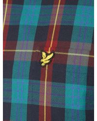 Lyle & Scott | Blue Long Sleeve Tartan Twill Classic Collar Shirt for Men | Lyst