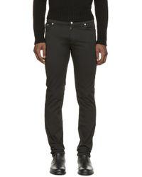 Versus | Black Skinny Jeans for Men | Lyst