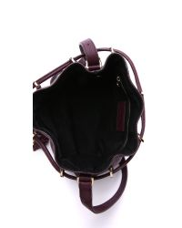 See By Chloé | Purple Vicki Small Bucket Bag | Lyst