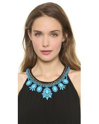 Venessa Arizaga - Skys The Limit Necklace Blue - Lyst