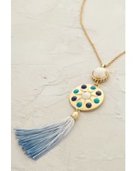 Cabinet - Blue Sundial Tassel Necklace - Lyst
