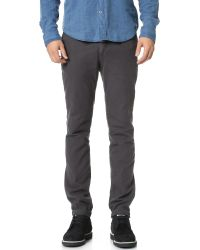 Gant Rugger | Gray Winter Twill Chinos for Men | Lyst