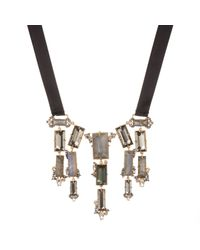 Alexis Bittar | Multicolor Baguette Fringe Bib Necklace You Might Also Like | Lyst