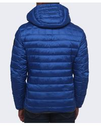 Napapijri - Blue Aerons Hood Quilted Jacket for Men - Lyst